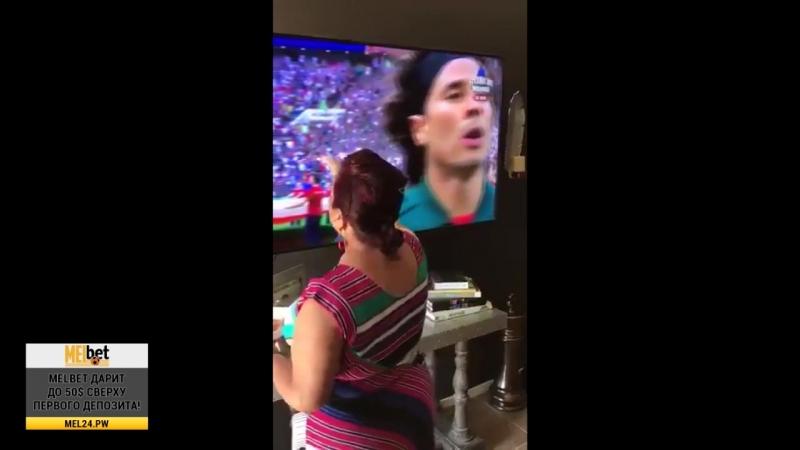 Я на сто процентов уверена, что Мексика выиграла благодаря моей бабушке via paolaa_janet 1