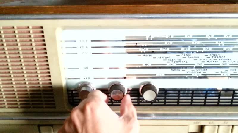 Костанай. Радиола Кантата-203 и виниловая пластинка 20.07.2019 1408