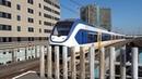 SLT naar Hoofddorp komt aan op Station Amsterdam Sloterdijk