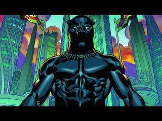 Трейлер к новому анимационному сериалу от Marvel «Мстители: Поиски Чёрной Пантеры»
