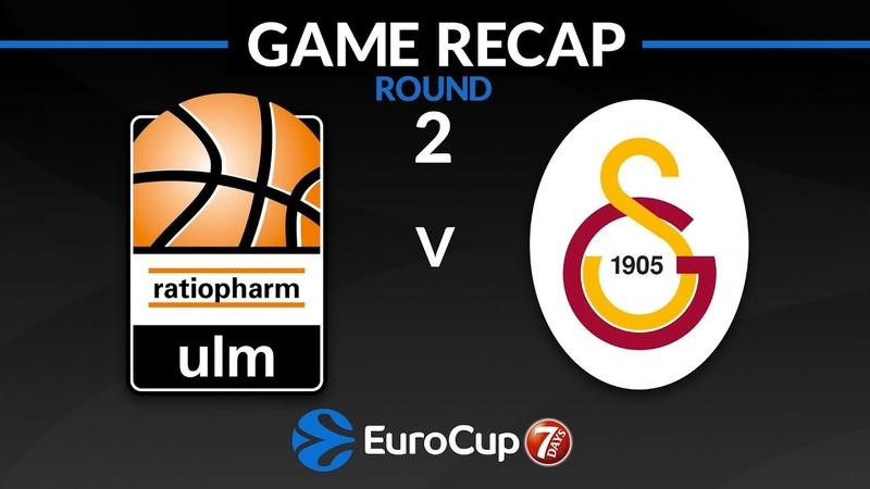 Highlights Ratiopharm Ulm - Galatasaray Istanbul