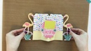 DIY Flamingo Pop-Out Gift Card Holder Sizzix