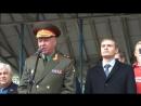 22 09 2018 Выступление генерал лейтенанта В И Соболева на митинге в Хакассии
