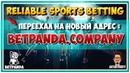 ВНИМАНИЕ! Reliable Sport Betting(RSB) Переименовали в BetPanda! Сайт переехал на новый адрес