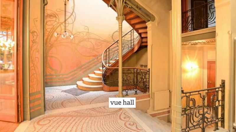 Classé au Patrimoine Mondial de l'Unesco l'Hôtel Tassel