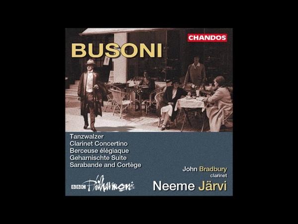 Ferruccio Busoni : Sarabande Cortège (Zwei Studien zu Doktor Faust) for orchestra Op. 51 (1918-19)