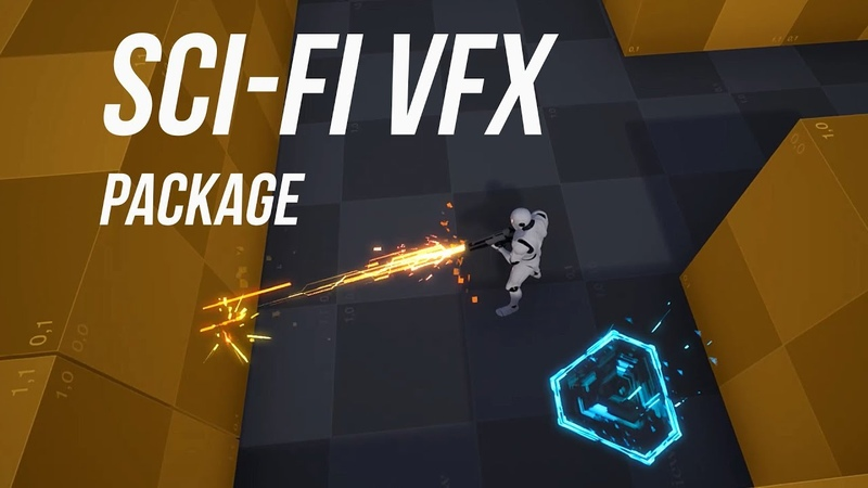 Sci Fi VFX and SFX Package