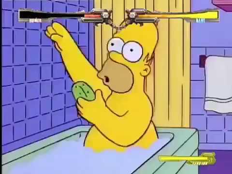 The Simpsons Xrd ~REV2~ - Barts IK Sing the Blues School Days