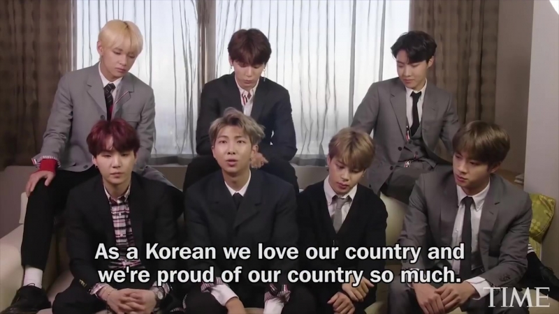 181011 K-Pops BTS On Why Theyre Unique, Their Parents Generation More @ TIME