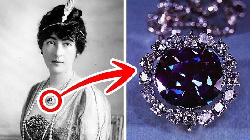 Ужасающая история алмаза Хоупа который разрушил жизни своих владельцев