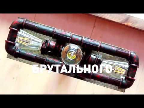 Презентация люстры ручной работы Propeller в стиле лофт