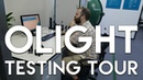 Olight Headquarters Flashlight Testing Facility Tour