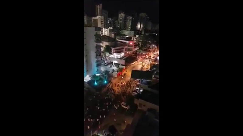 Troubles on the streets before Nautico - Fortaleza 15.01.2019