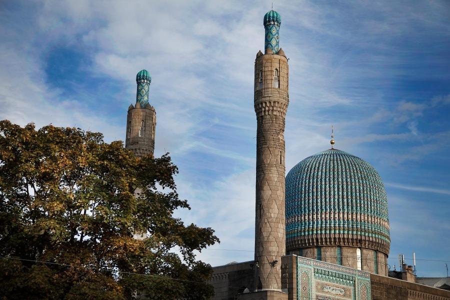 ecDCPUQYfTk Соборная мечеть Санкт-Петербурга.