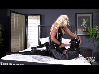 [femdomempire] brittany andrews - mommy's cock slut [2018 г., femdom, strapon, milf, pegging, anal, bondage, latex, 1080p]