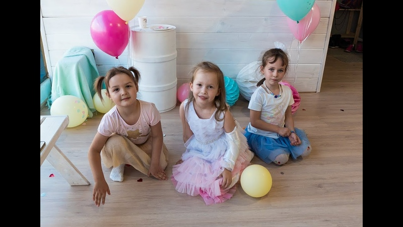 Alice is 7 years old. Event - пространство Magic day. Tyumen