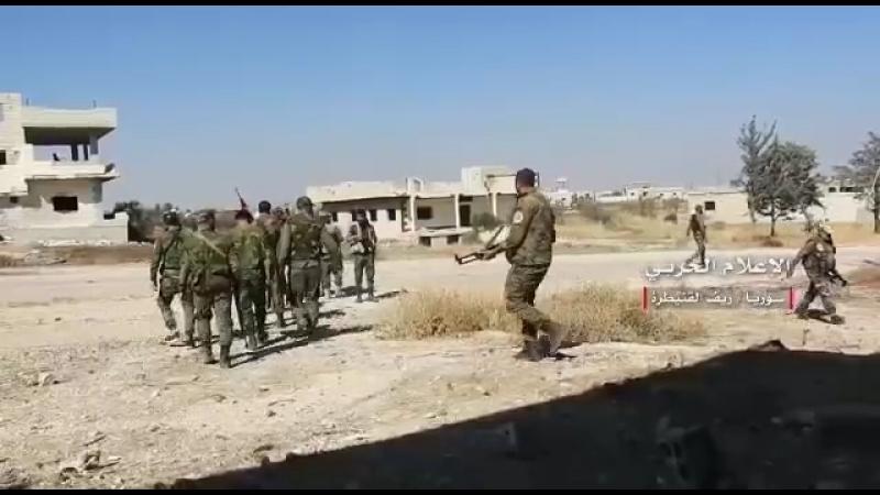 Сирия Сирийская армия на подступах к Голанским высотам 17 07 2018