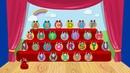 English Alphabet for kids. ABC song. / Песенка английский алфавит для детей (детскими голосами)