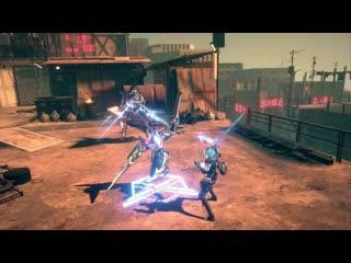 Astral chain - объединитесь со своим живым оружием и нанесите врагам сокрушительный удар!