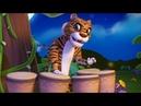 Animal Dance with Lion Tiger Elephants Cartoon Video Infobells
