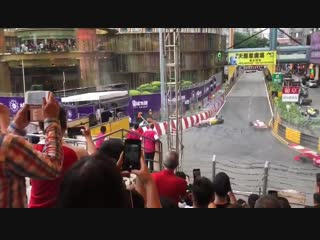 Авария на Гран-при Макао