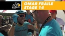 The joy of Omar Fraile - Stage 14 - Tour de France 2018