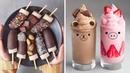 Chocolate Banana Cake Recipe 🍌🍌🍌 Cake Hacks 🍫 Easy Homemade Cake Decorating Ideas (Oct) 10