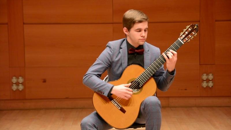 Arnaud DUMOND Récitatif, Bel canto Procession par Nikita NEDELKO, guitare