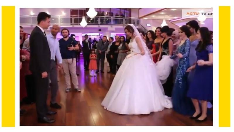 شاهد هذه العروس كيف رقصت لزوجها على اغنية ي