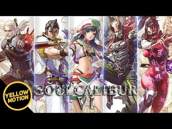 SOULCALIBUR VI All 14 Character Trailers TALIM MAXI YOSHIMITSU TAKI GERALT IVY More