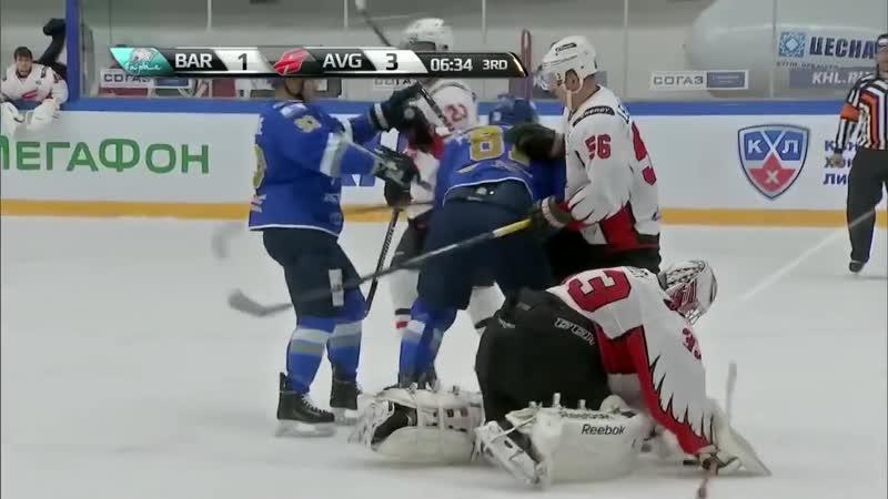 Боевой листок КХЛ драки первой части сезона KHL Fighting Issue No 1