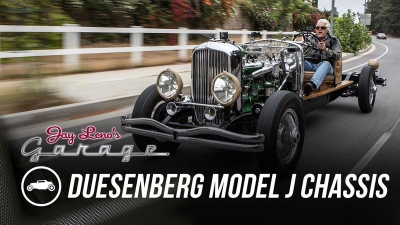 1931 Duesenberg Model J Chassis - Jay Lenos Garage