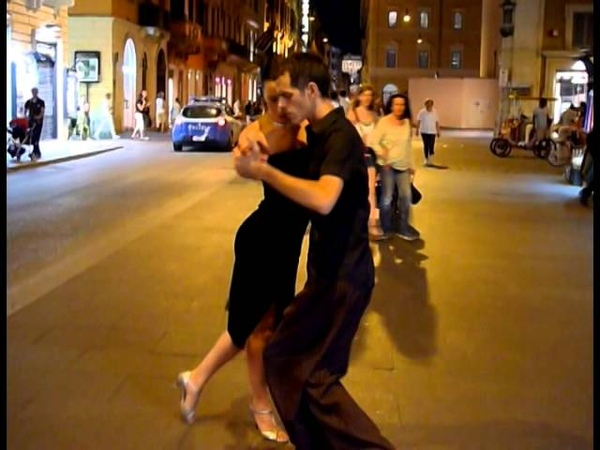 Fantastic Argentinian Tango Street Dance Accompanied By Armiks Lovely Music (Tropical Breeze) آرمیک