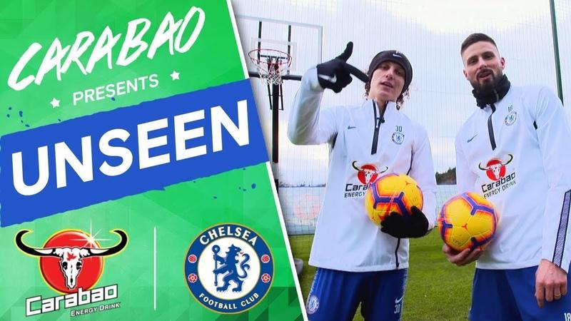 Find Out Whos Looking Sharp, Go Behind-The-Scenes of David Luiz Giroud Show | Chelsea Unseen
