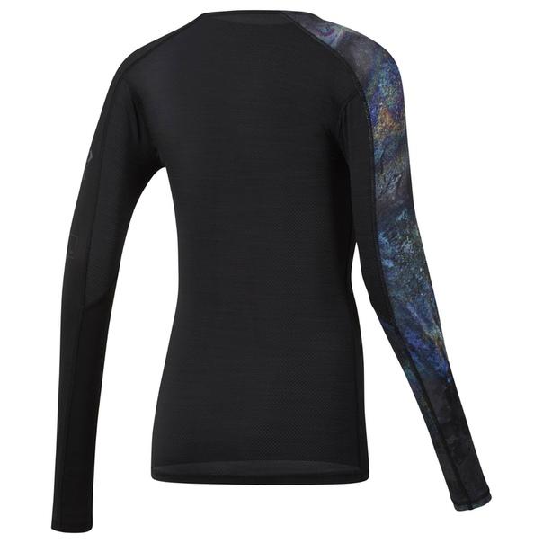 Компрессионная футболка с длинным рукавом ACTIVChill - Oil Slick