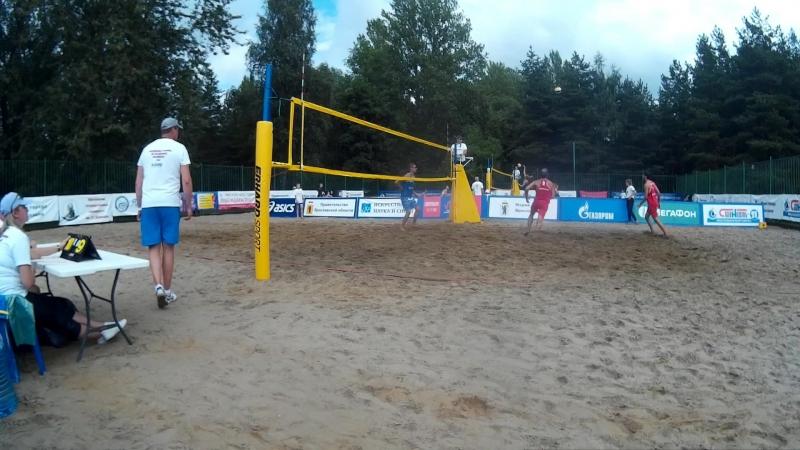 Beach volley Russia Yaroslavl 2018 M 05 Bogatov-Rakusov and Chirkin-Samoday