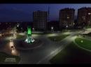 Набережная ночь Видеозарисовка ночной набережной города Костаная