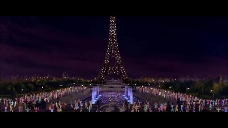 Мы с Аней прогулка по Парижу