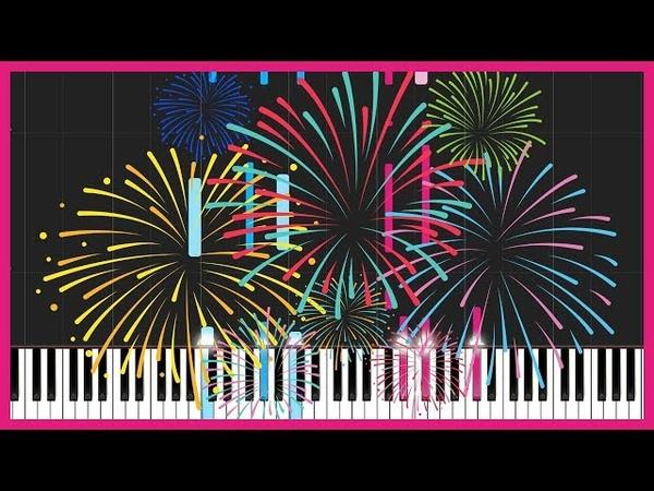 Uchiage Hanabi 打上花火 DAOKO × 米津玄師 Piano Tutorial Synthesia Just Keynime