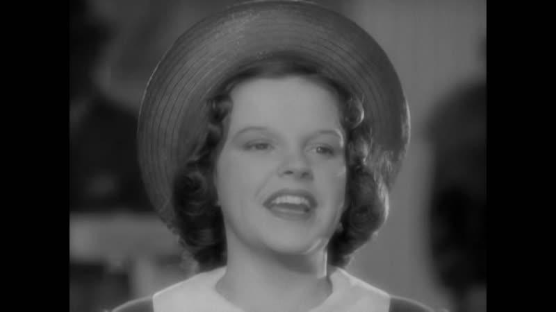 Judy Garland - Everybody Sing) Музыкальный фрагмент с Х/Ф Бродвейская мелодия 1938 / The Broadway Melody Of 1938 (1937)