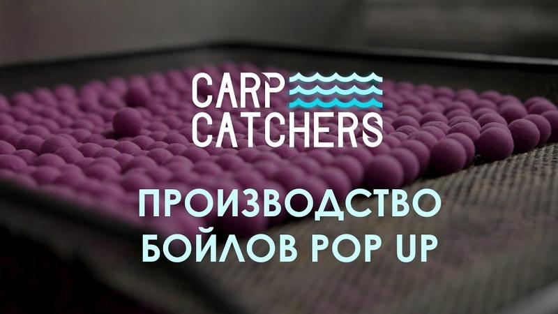 Производство бойлов pop up Carp Catchers