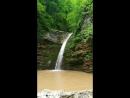 Последний из доступных неподготовленным туристам водопад Девичья коса