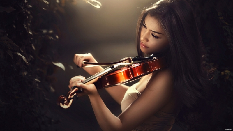 Красавица скрипачка, синее небо, море и Ламбада!🌴🌴🌴