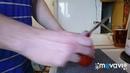 Нож Victorinox Climber на кухне. Не кухонник, но при необходимости справится.