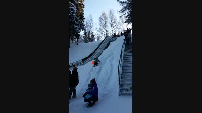 12.01.19 двоеборье ( прыжки с трамплина К25 и 3км лыжной трассы) 1 место)