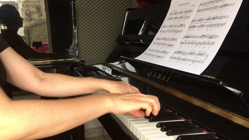 Неймарк Весёлый почтальон фортепиано детям Neymark Jolly postman piano sheet