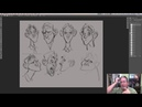 Live Drawing - Character Design!