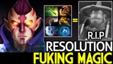 Resolution Anti Mage Fuking Magic! Storm Can't Survive 7.19 Dota 2