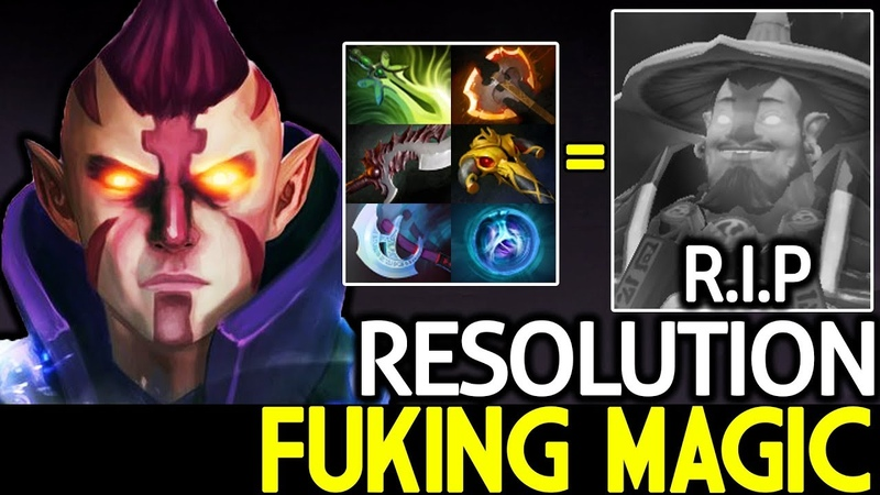 Resolution [Anti Mage] Fuking Magic! Storm Can't Survive 7.19 Dota 2