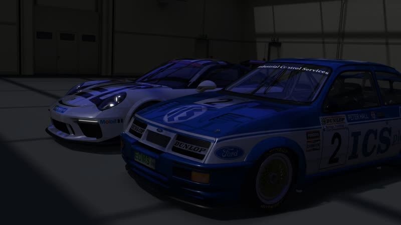 SRS Assetto Corsa. Непростой вечер на Форде и Порше